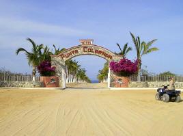 Hotel Punta Colorada Fishing Resort East Cape Baja Mexico Van Warmer Resorts