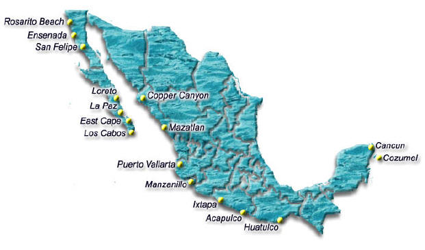 Where Is Mazatlan In Mexico Map.Mexico Maps Maps Of Mexico Maps Of Cancun Cabo San Lucas Los