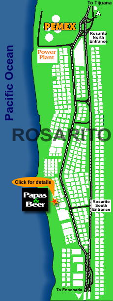 papas and beer rosarito beach map directions rosarito. Black Bedroom Furniture Sets. Home Design Ideas